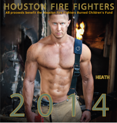 houston 2014 male firefighter calendar on fire critic