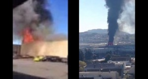 san francisco cab company 3 alarm fire on fire critic