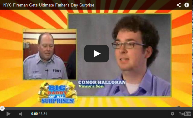 FDNY Fathers day surprise